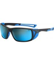 Cebe Proguide mat siyah, mavi 4000 gri maden mavi güneş gözlüğü