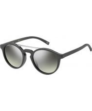 Marc Jacobs Marc 107-s drd gy koyu gri gümüş ayna güneş gözlüğü