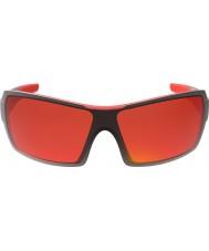Bolle Elmassırtlı parlak siyah, kırmızı tns yangın güneş gözlüğü