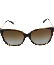 Michael Kors Mk6006 57 marrakesh koyu bağa 3006t5 polarize güneş gözlüğü