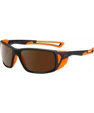 Cebe Proguide mat siyah turuncu 2000 kahverengi flaş ayna güneş gözlüğü