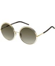 Marc Jacobs Bayanlar 11-ler apq ha altın karanlık havana güneş gözlüğü marc