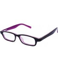 Eyejusters P1C1504PP Mor pembe okuma gözlükleri