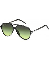 Marc Jacobs Marc 44-s D28 ib parlak siyah güneş gözlüğü