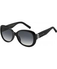 Marc Jacobs Bayanlar 111-s 807 9o siyah güneş gözlüğü marc