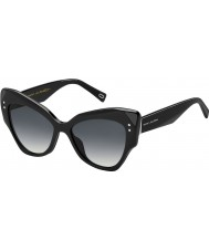 Marc Jacobs Bayanlar 116-s 807 9o siyah güneş gözlüğü marc