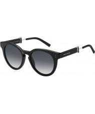 Marc Jacobs Bayanlar 129-s 807 9o siyah güneş gözlüğü marc