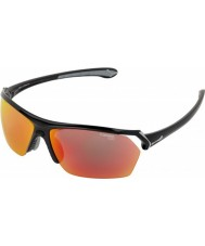 Cebe Vahşi parlak siyah katmanlı güneş gözlüğü