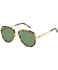 Marc Jacobs Erkek marc 136-s LSH dj havana altın güneş gözlüğü benekli