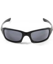 Oakley gri güneş gözlüğü - Oo9238-04 beşli cilalı siyah kare