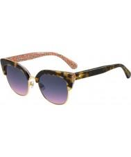 Kate Spade New York Bayanlar karri-s 2nl ff güneş gözlüğü