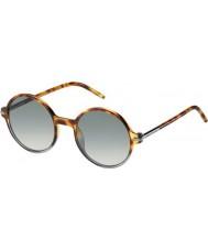 Marc Jacobs Erkek marc 48-ler TMV vk havana gri güneş gözlüğü gölgeli benekli
