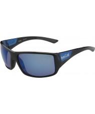 Bolle Parlak siyah mat mavi polarize deniz mavi güneş gözlüğü kaplan yılanı