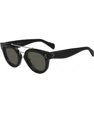 Celine Bayanlar 41043-s 807 1e siyah güneş gözlüğü cl