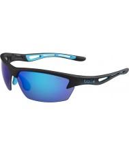 Bolle Bolt mat siyah mavi güneş gözlüğü