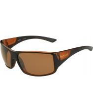 Bolle Parlak siyah mat kahverengi polarize kumtaşı silah güneş gözlüğü kaplan yılanı