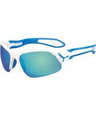 Cebe Cbspring3 s-pring beyaz mavi güneş gözlüğü