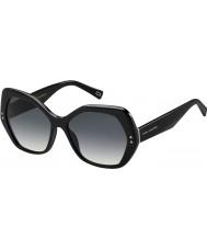 Marc Jacobs Bayanlar 117-s 807 9o siyah güneş gözlüğü marc
