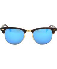 RayBan Rb3016 clubmaster kum kaplumbağası - mavi ayna