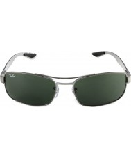 RayBan Rb8316 62 teknoloji karbon fiber tunç yeşil 004 güneş gözlüğü