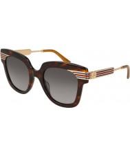 Gucci Bayanlar gg0281s 002 50 güneş gözlüğü