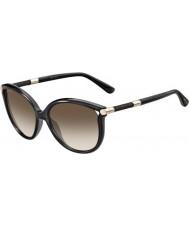 Jimmy Choo Bayanlar giorgy-s qcn jd koyu gri güneş gözlüğü