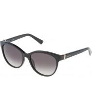 Nina Ricci Bayanlar snr003-700 parlak siyah güneş gözlüğü