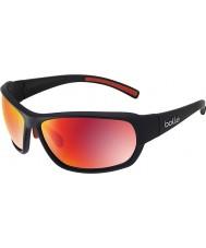 Bolle Bounty mat siyah polarize tns yangın güneş gözlüğü