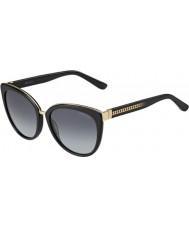 Jimmy Choo Bayanlar dana-s 10e hd siyah güneş gözlüğü