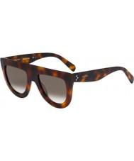 Celine Bayanlar 41398-s 05L z3 havana güneş gözlüğü cl