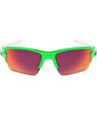 Oakley 2.0 XL yeşil solmaya flak Oo9188-43 - prizma alan güneş gözlüğü
