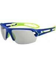 Cebe orta, koyu mavi, yeşil variochrom perfo güneş gözlüğü S-izlemek