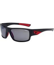 Cebe Fısıltı mat siyah kırmızı 1500 gri polarize flaş ayna güneş gözlüğü