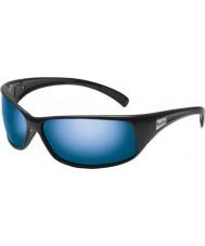 Bolle Parlak siyah polarize deniz mavi güneş gözlüğü geri tepme