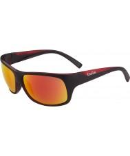 Bolle Viper mat siyah, kırmızı tns yangın güneş gözlüğü