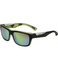 Bolle Jude mat siyah kireç kahverengi zümrüt güneş gözlüğü polarize