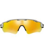 Oakley Oo9208-02 radar ev yolu gümüş - Yangın iridyum güneş gözlüğü