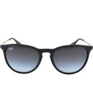 RayBan Rb4171 54 erika kauçuk siyah 622-8g güneş gözlüğü