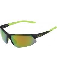 Bolle Kopan mat siyah kireç kahverengi zümrüt güneş gözlüğü