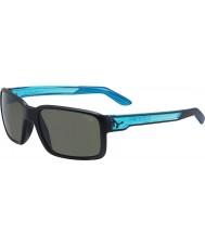 Cebe Dostum mat siyah kristal mavi güneş gözlüğü