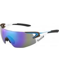 Bolle 5 eleman pro takım la mondiale mavi-mor güneş gözlüğü ag2r