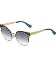 Jimmy Choo Bayanlar ora-ler psx u3 altın askeri yeşil güneş gözlüğü