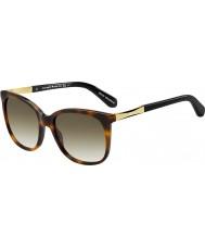 Kate Spade New York Bayanlar Julieanna-s crx cc karanlık havana altın güneş gözlüğü