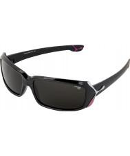 Cebe Ruj (yaş 9 artı) parlak siyah 2000 gri güneş gözlüğü
