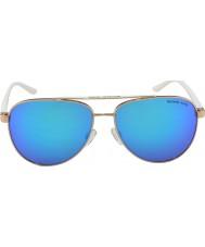 Michael Kors Mk5007 59 sportif altın beyaz 104525 güneş gözlüğü gül