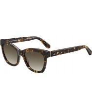 Kate Spade New York Bayanlar krissy-s Z61 ha havana güneş gözlüğü