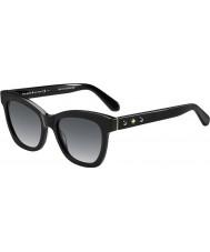 Kate Spade New York Bayanlar krissy-s 807 f8 siyah güneş gözlüğü